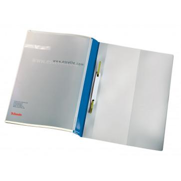 Dosar plastic, albastru, 25 buc.set, Esselte Panorama