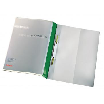 Dosar plastic, verde, 25 buc.set, Esselte Panorama