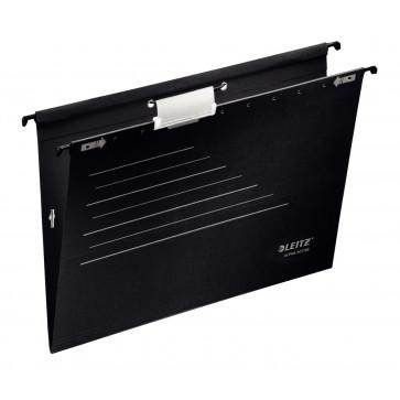Dosar suspendabil, cu elastic, negru, LEITZ Alpha Active