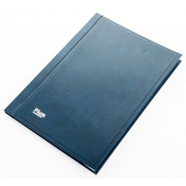 Registru A4, 100 file, matematica, coperti imitatie piele, PLUSS