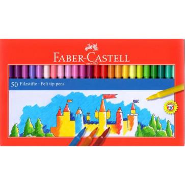 Carioci, 50 culori/set, FABER CASTELL