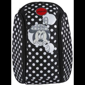 Ghiozdan scolar, 45 x 34 x 21cm, negru, PIGNA Minnie Mouse