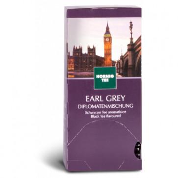 Ceai negru, 25 plicuri/cutie, J. HORNIG Earl Grey