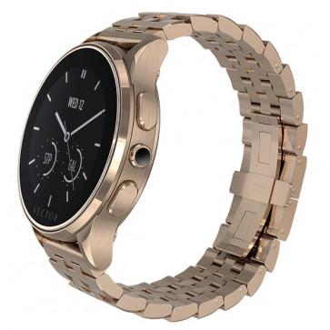 SmartWatch VECTOR Watch Luna, rose gold, bratara metalica