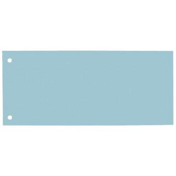 Separatoare din carton, 240 x 105mm, albastru, 100 buc/set, ELBA