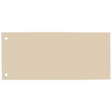 Separatoare din carton, 240 x 105mm, crem, 100 buc/set, ELBA