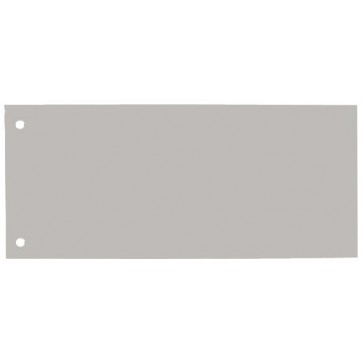 Separatoare din carton, 240 x 105mm, gri, 100 buc/set, ELBA