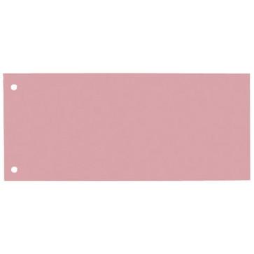 Separatoare din carton, 240 x 105mm, rosu, 100 buc/set, ELBA
