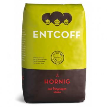 Cafea boabe decofeinizata, 500gr, J. HORNIG Entcoff