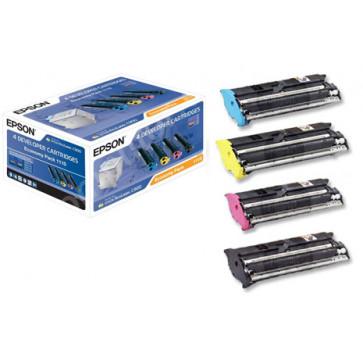 Toner set color si negru, EPSON  C13S051110