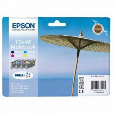 Cartus set color si negru, EPSON C13T04454010