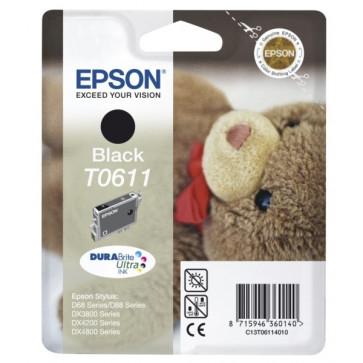 Cartus, negru, EPSON T06114010