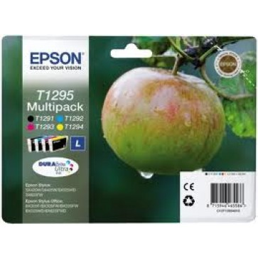 Cartus, set color+negru, EPSON T12954010