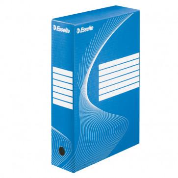 Cutie pentru arhivare, 345 x 245 x 80mm, albastru, ESSELTE Boxycolor VIVIDA
