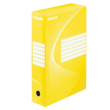 Cutie pentru arhivare, 345 x 245 x 80mm, galben, ESSELTE VIVIDA