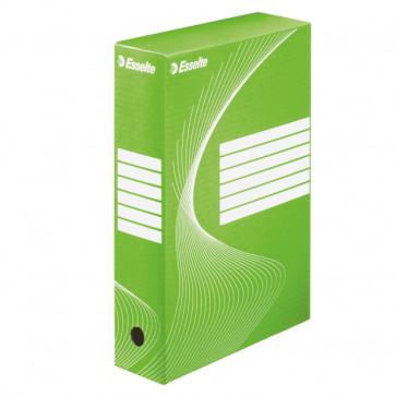 Cutie pentru arhivare, 345 x 245 x 80mm, verde, ESSELTE VIVIDA