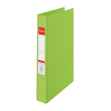 Caiet mecanic, A4, mecanism 2 inele RR, inel 25 mm, verde, ESSELTE Standard VIVIDA