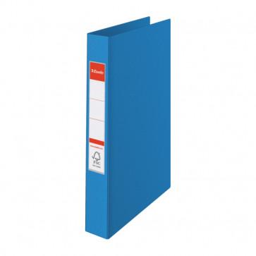 Caiet mecanic, A4, mecanism 4 inele RR, inel 25 mm, albastru, ESSELTE Standard VIVIDA