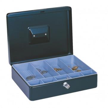 Caseta de valori, 76 x 115 x 150mm, albastru, ESSELTE