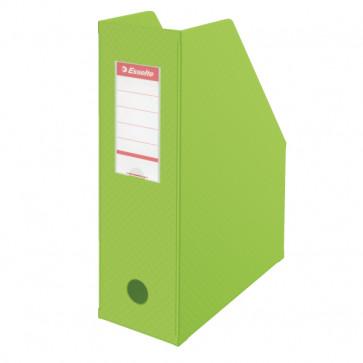 Suport vertical PVC, verde,  ESSELTE VIVIDA