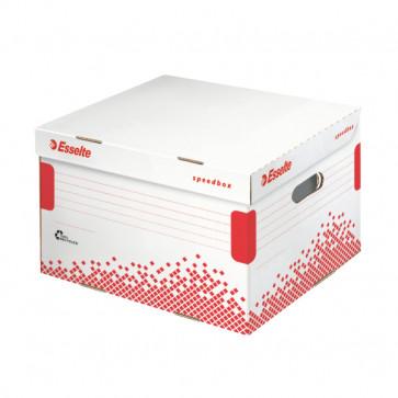 Container pentru arhivare, cu capac, 364 x 263 x 433mm, ESSELTE Speedbox