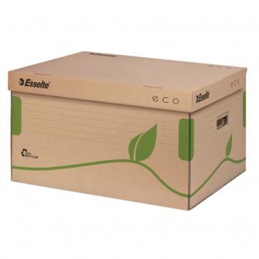 Container pentru arhivare pentru cutii 8/10 cm, cu capac, 345 x 242 x 439mm, ESSELTE Eco
