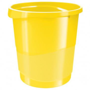 Cos de gunoi, 14 litri, galben, ESSELTE VIVIDA