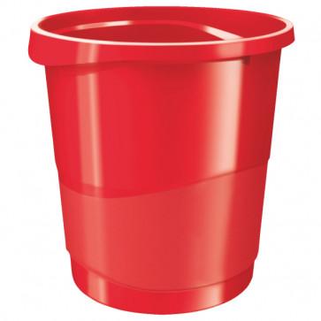 Cos de gunoi, 14 litri, rosu, ESSELTE VIVIDA