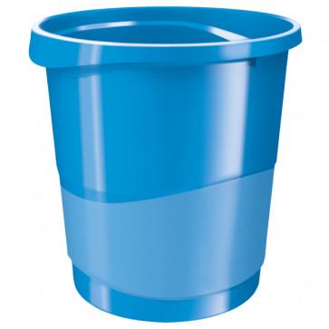 Cos de gunoi, 14 litri, albastru, ESSELTE VIVIDA