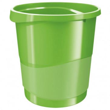 Cos de gunoi, 14 litri, verde, ESSELTE VIVIDA