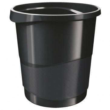 Cos de gunoi, 14 litri, negru, ESSELTE VIVIDA
