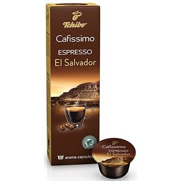 Capsule cafea, 10 capsulecutie, Espresso, TCHIBO Cafissimo El Salvador