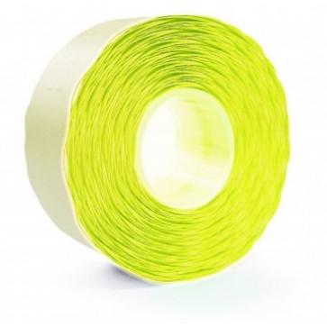 Etichete autoadezive pt. marcatoare, 26 x 16mm, 1000 etichete/rola, galben fluorescent, PRIX