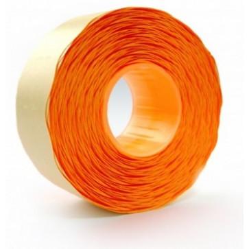 Etichete autoadezive pt. marcatoare, 26 x 16mm, 1000 etichete/rola, portocaliu fluorescent, PRIX