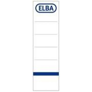 Etichete pt. bibliorafturi, 54 x 190mm, alb, 10 buc/set, ELBA