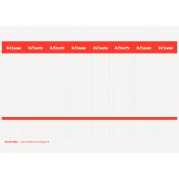 Etichete de carton printabile pentru biblioraftul Esselte, 50mm
