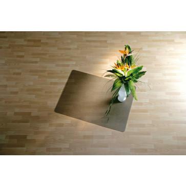 Protectie podea pentru suprafete dure, 90 x 120cm, fumuriu, RS OFFICE