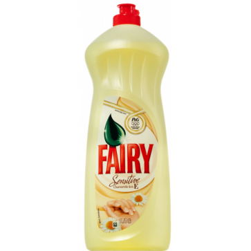 Detergent de vase FAIRY Sensitive, Chamomile and Vitamin E, 1L