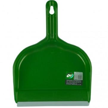 Faras, lamela cauciuc, maner tip clips, verde, OTI