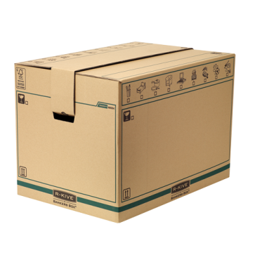 Container pentru arhivare, 457 x 457 x 609mm, kraft, FELLOWES R-Kive Transit