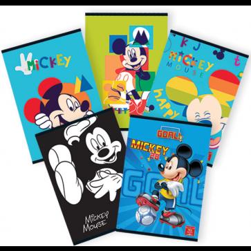 Caiet A5, 48 file, matematica, PIGNA Premium Mickey Mouse