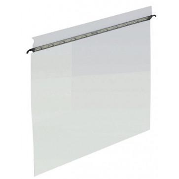 Fila din plastic, A4, transparent, suspendabila, ELBA vertic