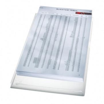 File din plastic, A4, transparent, 170 mic., 5 buc/set, LEITZ Jumbo