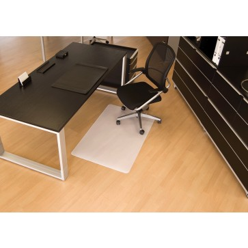 Protectie podea pentru suprafete dure, forma O, 110 x 120cm, RS OFFICE BSM
