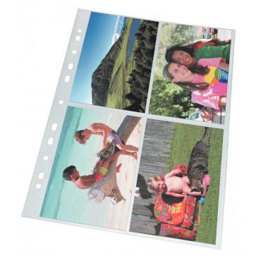 File de protectie pentru fotografii, A4, 80 mic, 10 buc, Esselte