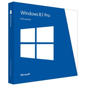 Microsoft Windows 8.1 Pro FPP, Engleza, 32/64bit, DVD
