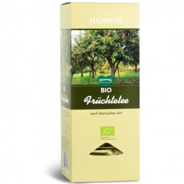 Ceai fructe stirian BIO, 25 plicuri triunghiulare, J. HORNIG