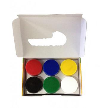 Guase, 20ml, 6 culori/set, PIGNA ColourKids
