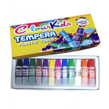 Tempera, 7ml, 12 culori/set, PIGNA ColourKids