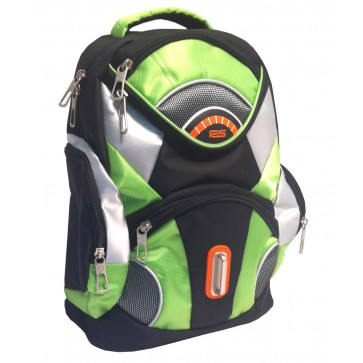Rucsac, 37 x 26 x 13cm, verde, PIGNA School Friendly ACS